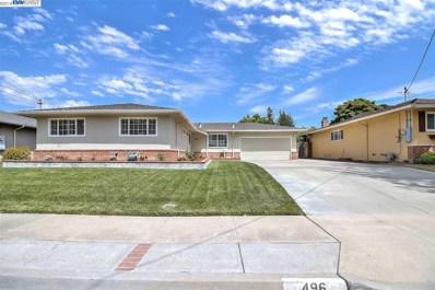 496 Hillview Dr, Fremont, CA 94536 - MLS#: 40831583