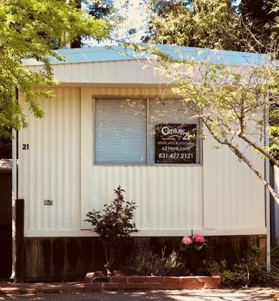 265 Brown Gables Road UNIT 21, Ben Lomond, CA 95005 - MLS#: 52134700