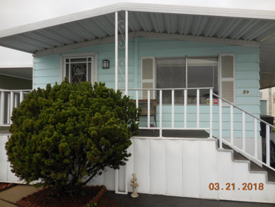 55 San Juan Grade, #59 UNIT 59, Salinas, CA 93906 - MLS#: 52142263