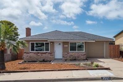 1707 Waring Street, Seaside, CA 93955 - MLS#: 52144052
