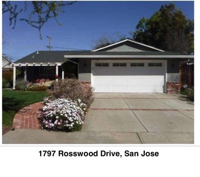 1797 Rosswood Drive, San Jose, CA 95124 - MLS#: 52144502