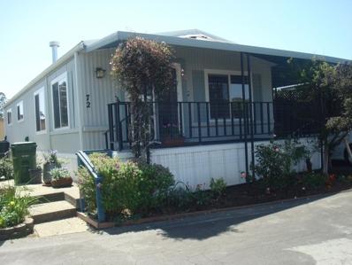 800 Brommer Street UNIT 72, Santa Cruz, CA 95062 - MLS#: 52144506