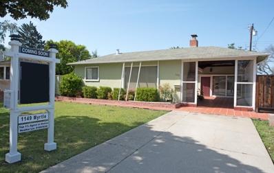 1149 Myrtle Drive, Sunnyvale, CA 94086 - MLS#: 52146631