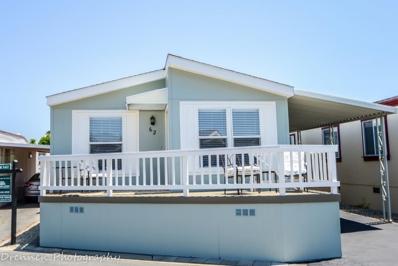 1555 Merrill Street UNIT 62, Santa Cruz, CA 95062 - MLS#: 52154256