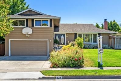 224 Danville Drive, Los Gatos, CA 95032 - MLS#: 52156318