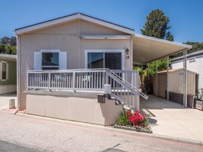 999 Old San Jose Road UNIT 13, Soquel, CA 95073 - MLS#: 52156530