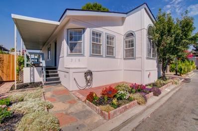 6130 Monterey Rd Space 316 UNIT 316, San Jose, CA 95138 - MLS#: 52162027