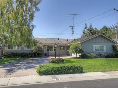 1376 El Solyo Avenue, Campbell, CA 95008 - MLS#: 52162391