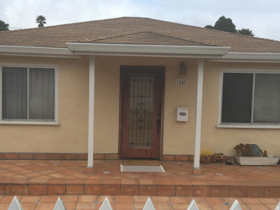 1257 Judson Street, Seaside, CA 93955 - MLS#: 52164789
