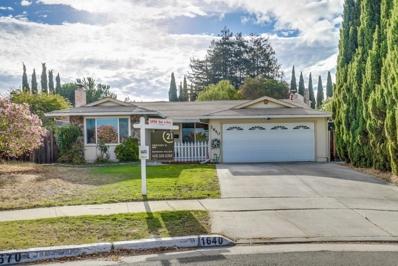 1640 Stone Creek Drive, San Jose, CA 95132 - MLS#: 52168891