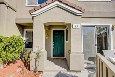 13 Torregata Loop, San Jose, CA 95134 - MLS#: 52170363