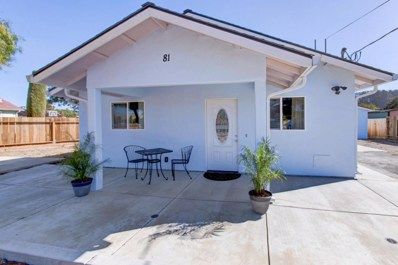 81 Oak Road, Royal Oaks, CA 95076 - MLS#: 52172661