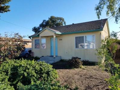 438 Hyland Drive, Salinas, CA 93907 - MLS#: 52176789