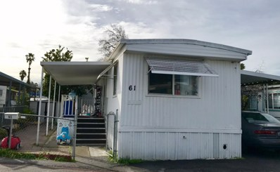 2855 Senter Road UNIT 61, San Jose, CA 95111 - MLS#: 52177281