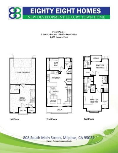 808 S Main Street UNIT 136, Milpitas, CA 95035 - MLS#: 52183300