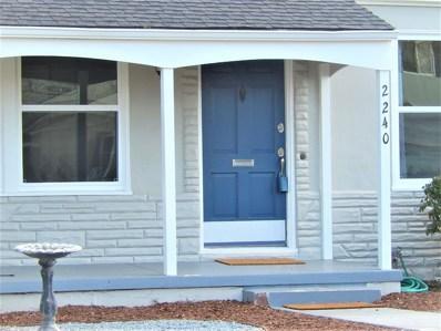 2240 Sunny Vista Drive, San Jose, CA 95128 - MLS#: 52185939