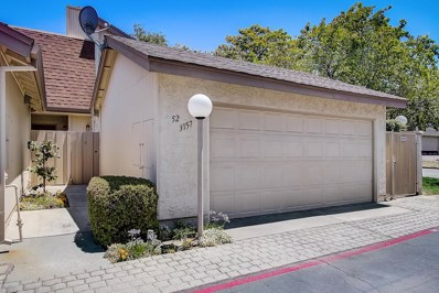 3157 Loma Verde Drive UNIT 52, San Jose, CA 95117 - MLS#: 52201278