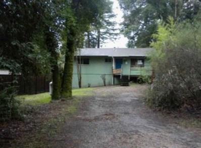 701 Pinecrest Drive, Boulder Creek, CA 95006 - MLS#: 52219875