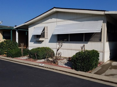 1200 S Carpenter Road UNIT 158, Modesto, CA 95351 - MLS#: 18009461