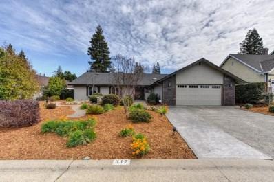 317 Crow Canyon Drive, Folsom, CA 95630 - MLS#: 18011621