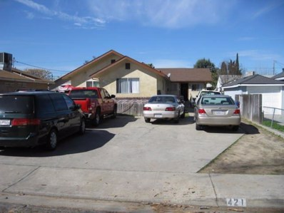 421 S Orange Street, Turlock, CA 95380 - MLS#: 18011926