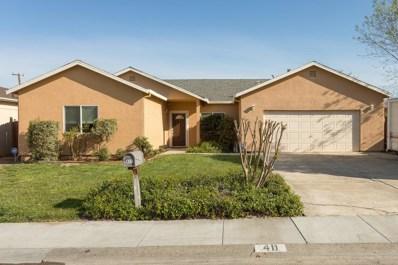 411 Senator Avenue, Sacramento, CA 95833 - MLS#: 18020221