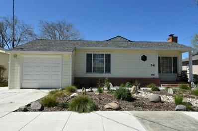 541 N O Street, Livermore, CA 94551 - MLS#: 18024693