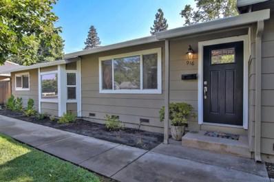 916 Persifer Street, Folsom, CA 95630 - MLS#: 18051365