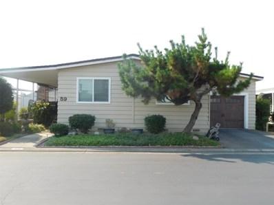 6706 Tam O Shanter Drive UNIT 59, Stockton, CA 95210 - MLS#: 18072709