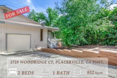 2729 Woodridge Court, Placerville, CA 95667 - #: 19044765