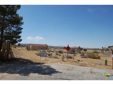 0 Caliente Street, Yucca Valley, CA 92284 - MLS#: 15897805PS