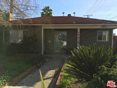 14438 Tiara Street, Sherman Oaks, CA 91401 - MLS#: 17200054