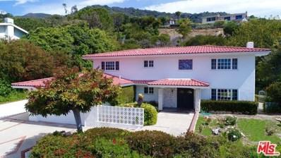 18025 Sandy Cape Drive, Pacific Palisades, CA 90272 - MLS#: 17224062