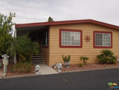 17640 Corkill Road UNIT 75, Desert Hot Springs, CA 92241 - #: 17242584PS