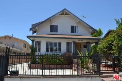 537 N Serrano Avenue, Los Angeles, CA 90004 - MLS#: 17243298