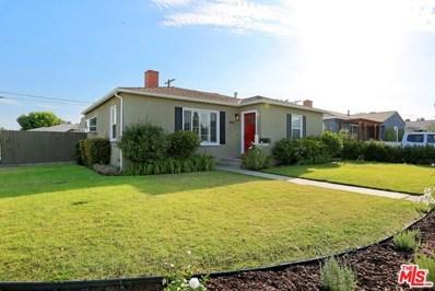 4843 Beloit Avenue, Culver City, CA 90230 - MLS#: 17250040