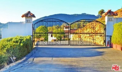 975 Greenleaf Canyon Road, Topanga, CA 90290 - MLS#: 17254076