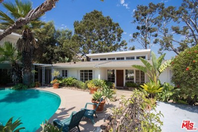 1601 Marlay Drive, Los Angeles, CA 90069 - MLS#: 17260062