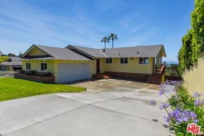 16646 Linda Terrace, Pacific Palisades, CA 90272 - MLS#: 17264474