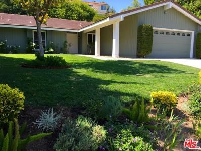 1531 Briarglen Avenue, Westlake Village, CA 91361 - MLS#: 17273430