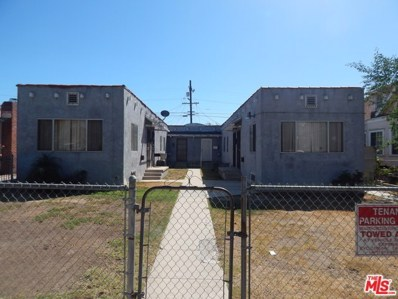 1108 W 39TH Place, Los Angeles, CA 90037 - MLS#: 17273770