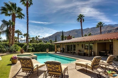 418 W Chino Canyon Road, Palm Springs, CA 92262 - #: 17283120PS