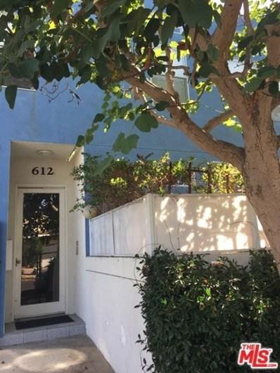 612 Flower Avenue UNIT B, Venice, CA 90291 - MLS#: 17283290