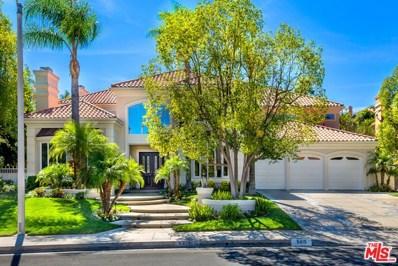 5415 Collingwood Circle, Calabasas, CA 91302 - MLS#: 17285728