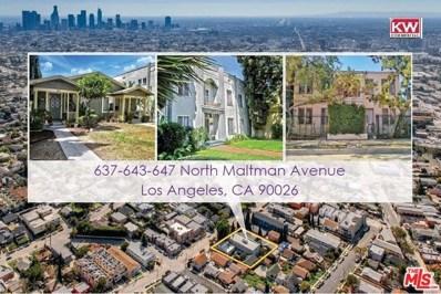 643 Maltman Avenue, Los Angeles, CA 90026 - MLS#: 17287694
