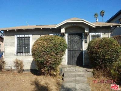 3863 Montclair Street, Los Angeles, CA 90018 - MLS#: 17288654