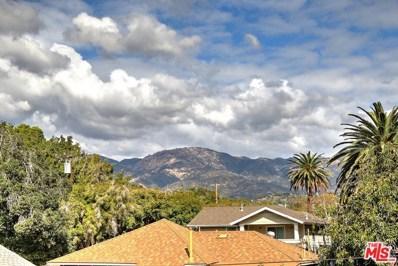 1526 San Andres Street, Santa Barbara, CA 93101 - MLS#: 17289424