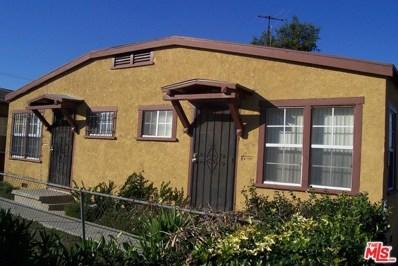 5423 2ND Avenue, Los Angeles, CA 90043 - MLS#: 17296712
