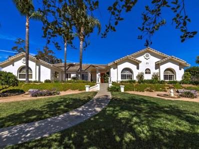 1718 Avenida De Nog, Fallbrook, CA 92028 - MLS#: 180024942
