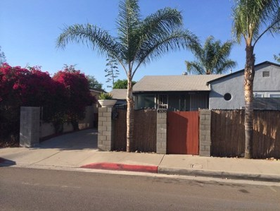 4330 Meade Ave, San Diego, CA 92116 - MLS#: 180026993